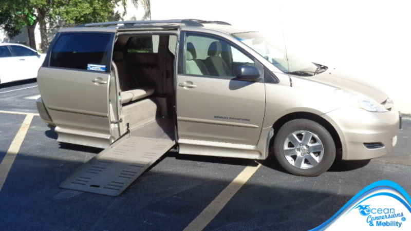 Used 2010 Toyota Sienna.  Conversion