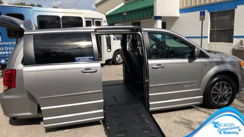 Used 2017 Dodge Grand Caravan.  Conversion