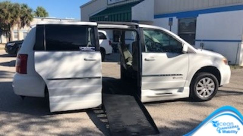 Used 2016 Chrysler Town and Country.  Conversion