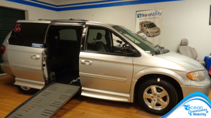 Used 2007 Dodge Grand Caravan.  ConversionBraunAbility Chrysler Entervan II