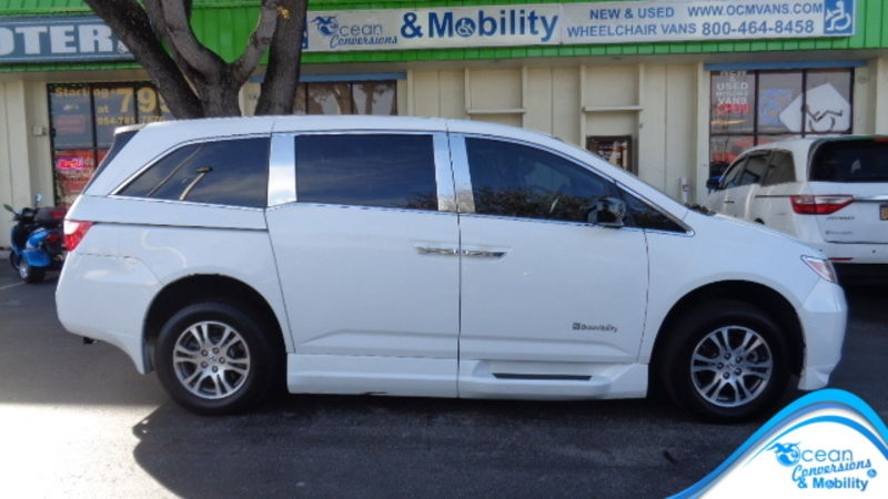Used 2012 Honda Odyssey.  Conversion