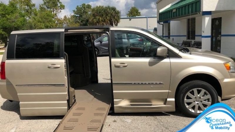 Used 2013 Chrysler Town and Country.  Conversion