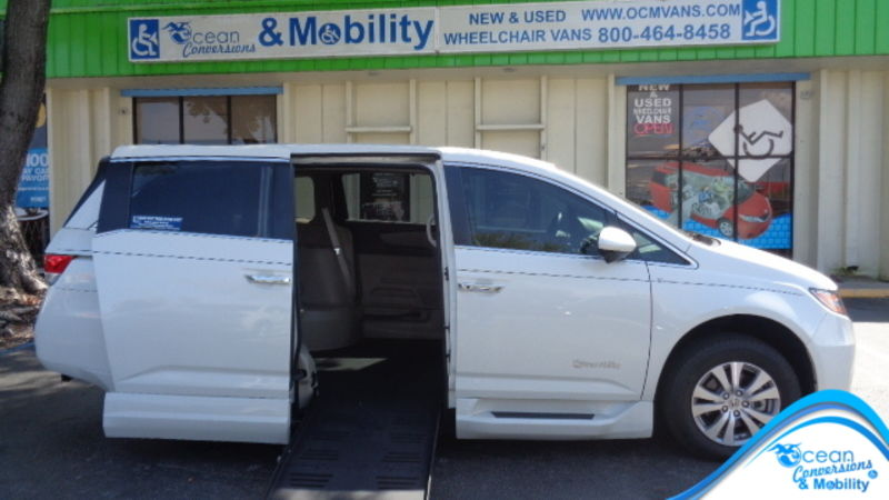 Used 2016 Honda Odyssey.  Conversion