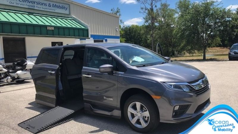 New 2019 Honda Odyssey.  Conversion