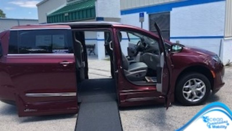 Used 2019 Chrysler Pacifica.  Conversion