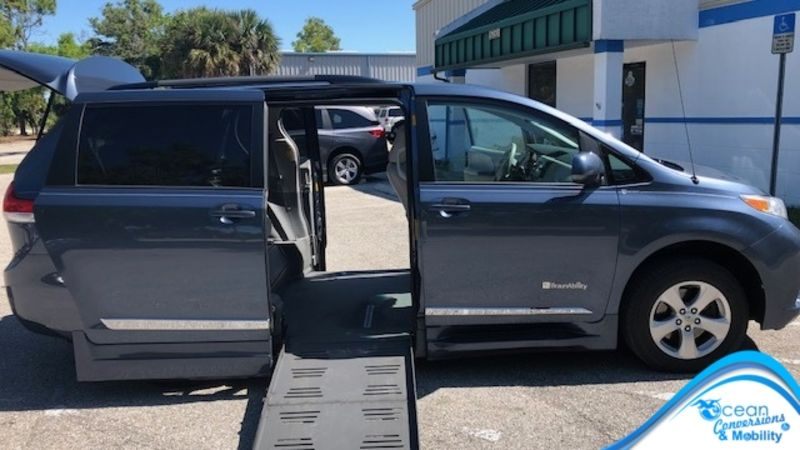 Used 2014 Toyota Sienna.  Conversion