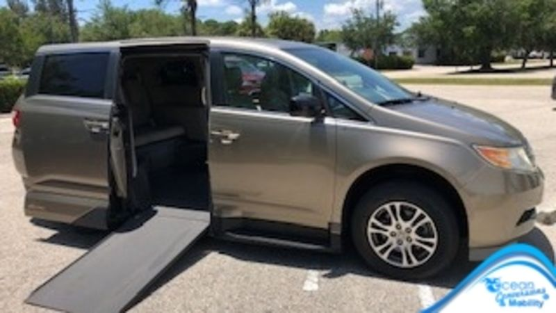 Used 2013 Honda Odyssey.  Conversion