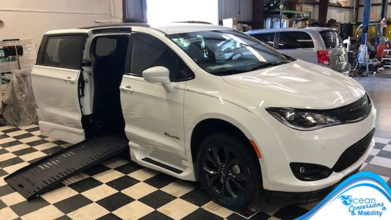 Used 2020 Chrysler Pacifica.  Conversion