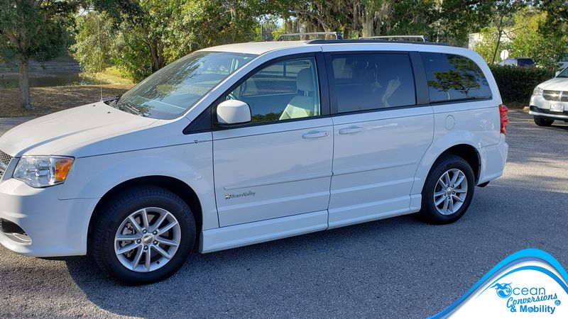 Used 2016 Dodge Grand Caravan.  Conversion
