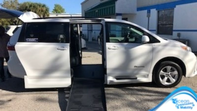 Used 2019 Toyota Sienna.  Conversion