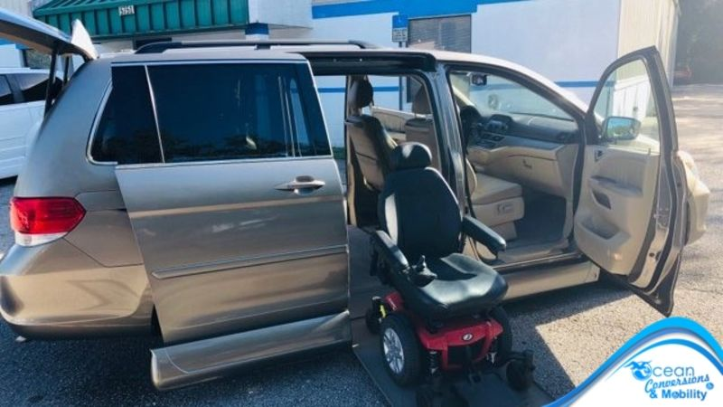 2008 Honda Odyssey  wheelchair van for sale