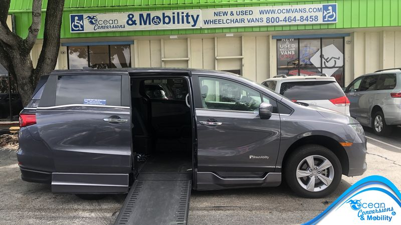 2019 Honda Odyssey BraunAbility Honda Power Infloor wheelchair van for sale