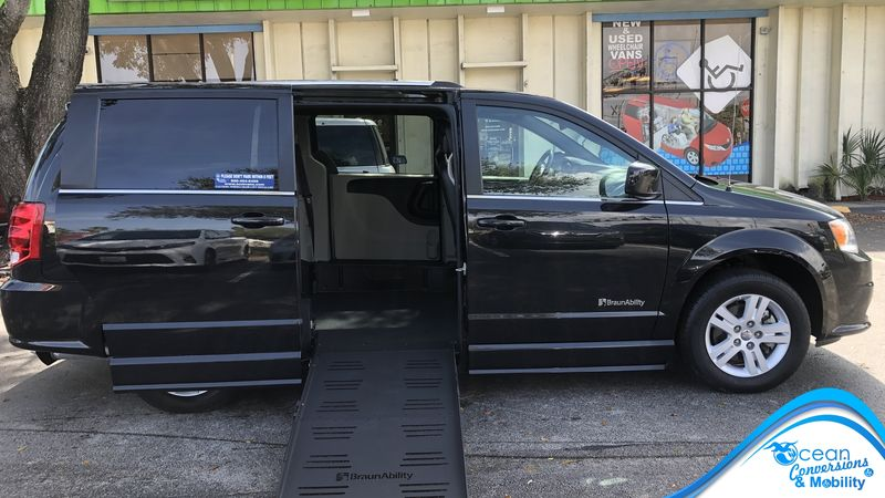 Used 2019 Dodge Grand Caravan.  ConversionBraunAbility Dodge CompanionVan Plus