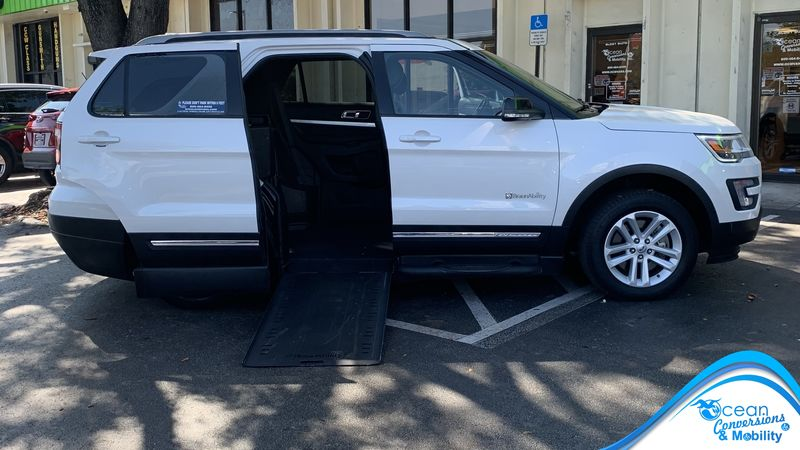 Used 2016 Ford Explorer.  ConversionBraunAbility MXV Wheelchair SUV