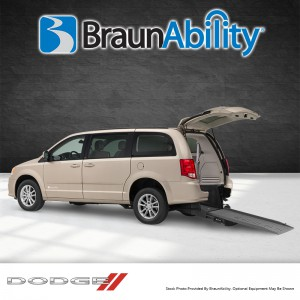 BraunAbility Dodge Power Rear
